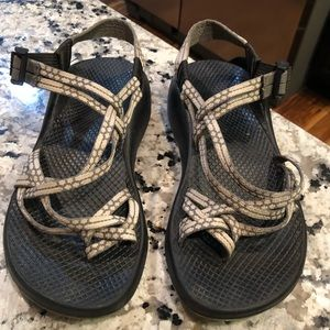 Chaco ZX2 Yampa Size 8 Gray sport water sandals